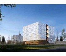四层透明阳光板-内蒙古工业大学幕墙工程