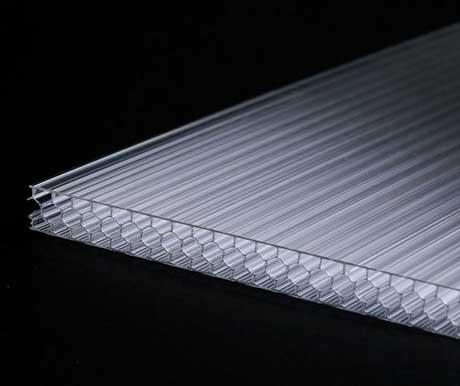 蜂窝型透明阳光板